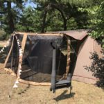猛暑の中、鳥取砂丘こどもの国キャンプ場へ行きました。