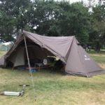 再び雨の赤穂海浜公園オートキャンプ場、初の父娘キャンプ!